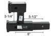 D-192 - Dual Hitch Adapter,Hitch Extension Curt Accessories and Parts