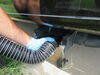 """SilverBack RV Sewer Hose w/ 3"""" Swivel Fittings and 4-in-1 Clear Elbow Adapter - 15' Long 24 Mil - Extra Thick D04-0650"""