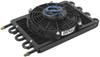 Derale Dyno-Cool Remote Cooler with Fan and AN Inlets - Class IV 16-5/8W x 10-1/4T x 3-1/4D Inch D12733