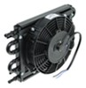 Derale Dyno-Cool Remote Cooler with Fan and Hose Barb Inlets - Class II 13-5/8W x 7-5/8T x 3-1/4D Inch D12740
