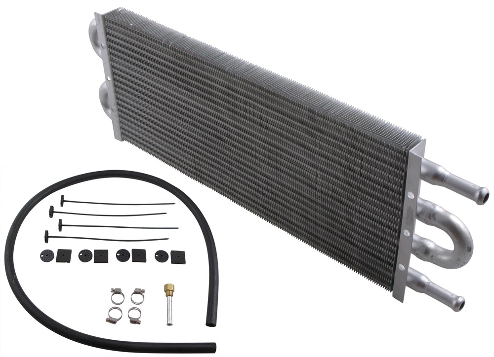 D12902 - 15-1/4W x 5T x 3/4D Inch Derale Transmission Coolers