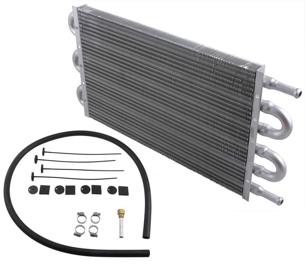 Derale Dyno-Cool Tube-Fin Transmission Cooler Kit - Class III - Economy Standard Mount D12903