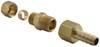 D13032 - 3/8 Inch NPT Hose Barb Derale Transmission Coolers
