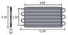 Transmission Coolers D13101 - Standard Mount - Derale
