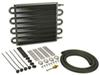 D13107 - With 11/32 Inch Hose Barb Inlets Derale Transmission Coolers