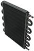 Derale Series 7000 Tube-Fin Transmission Cooler Kit w/ Hose Barb Inlets - Class IV - Standard Class IV D13108