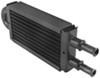 "Derale 2-Pass Tube-Fin Power Steering Cooler - 8-1/8"" Wide Dual-Pass D13213"