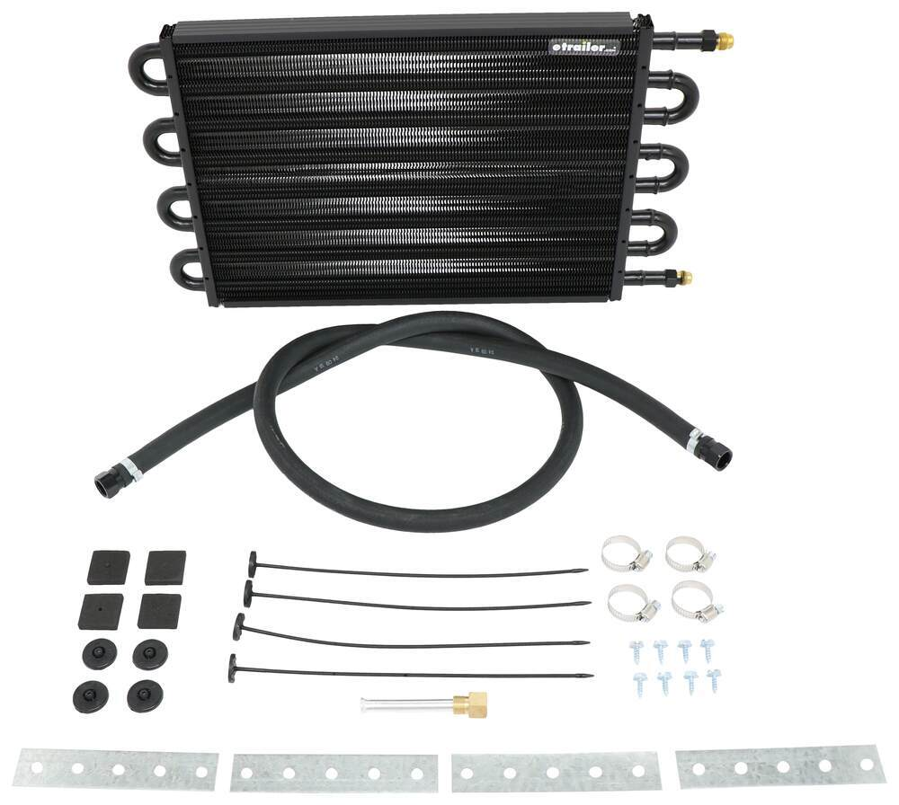 Transmission Coolers D13304 - 17-1/2W x 10-1/4T x 3/4D Inch - Derale