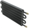 derale transmission coolers tube-fin cooler standard mount series 7000 core w/ an inlets - class iii