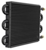derale transmission coolers tube-fin cooler standard mount series 7000 core w/ an inlets - class ii