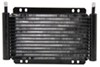 Derale Series 8000 Plate-Fin Transmission Cooler Kit w/Barb Inlets - Class III - Efficient Standard Mount D13502