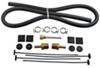 Derale Series 9000 Plate-Fin Transmission Cooler Kit w/ NPT Inlets - Class I -Extra Efficient Class I D13611
