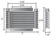 Derale With 1/2 Inch NPT Transmission Coolers - D13613