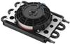 derale transmission coolers remote mount 6-pass econo-cool cooler assembly w/ fan 11/32 inch barb inlets - class ii