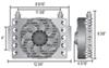 D13950 - Class V Derale Remote Cooler