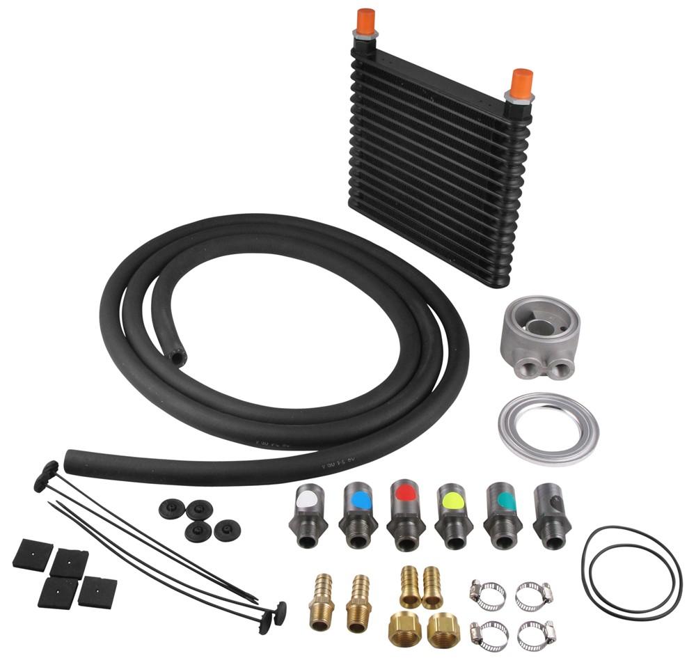 Derale Plate-Fin Cooler - D15405