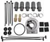 D15502 - 16-5/8W x 7-5/8T x 3/4D Inch Derale Tube-Fin Cooler