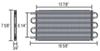 D15505 - Class III Derale Engine Oil Coolers