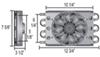 derale transmission coolers remote cooler mount d15830