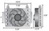 Derale Transmission Coolers - D15950