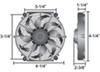 derale radiator fans electric 4 inch diameter d16104