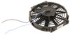 """Derale 10"""" Dyno-Cool Straight-Blade Electric Fan with Thermostat Control - 500 CFM 10 Inch Diameter D16310"""
