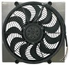 "Derale 17"" High-Output, Electric Radiator Fan w/ Aluminum Shroud Assembly - 2,400 CFM High-Output Fan D16816"