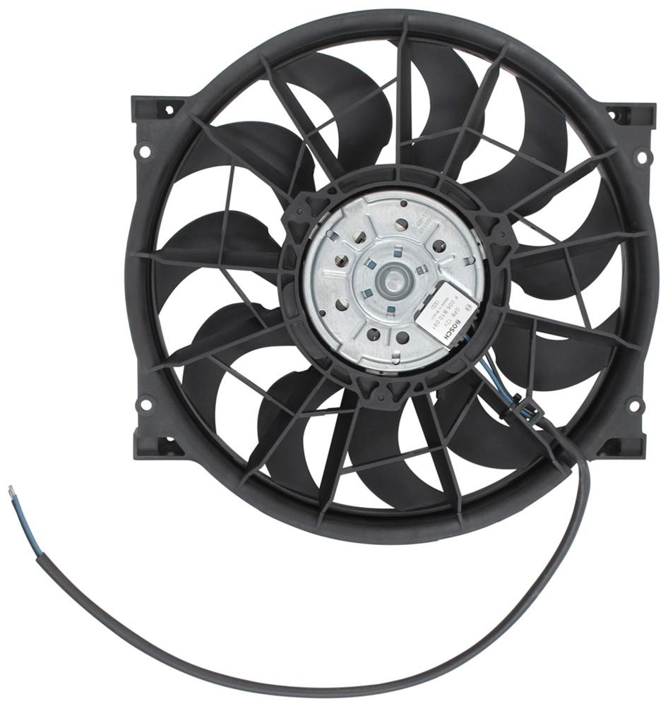 "Derale 12"" High-Output, Electric Radiator Fan - 2,150 CFM High-Output Fan D16925"