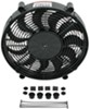 "Derale 17"" High-Output, Electric, Single Radiator Fan - 2,400 CFM 2400 CFM D18217"