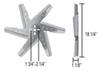 Derale Aluminum Radiator Fans - D19418