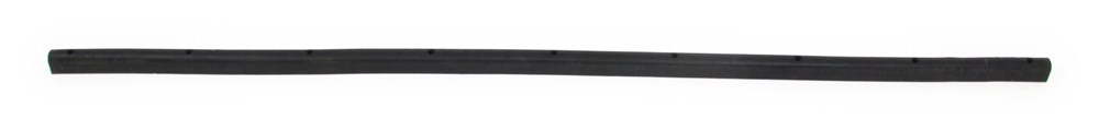 "Pre-Drilled Round Rubber Trailer Bumper - 96"" Long x 2-1/16"" Wide 2-1/16 Inch Wide Bumper D2-96"