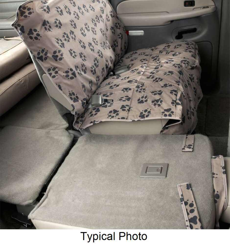 Canine Covers Custom-Fit Seat Protector for Rear Bench Seats - Champagne Second DCC4453PC