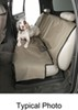 Canine Covers Econo Seat Protector for Rear Bench Seats with Headrests - Medium High Back - Gray Semi-Custom Fit DE1021GY