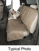 canine covers car seat bench econo-plus protector - w/ headrests medium high back tan