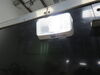 0  rv lighting diamond exterior light led porch and utility for rvs - on/off switch 175 lumens rectangle clear lens