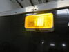 0  rv lighting diamond exterior light porch led and utility for rvs - on/off switch 175 lumens rectangle amber lens