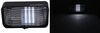 LED Porch and Utility Light with On/Off Switch for RVs - 175 Lumens - Black Housing - Clear Lens Porch Light,Utility Light DG52728VP