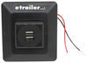 Charging Station for RVs - 2 USB Ports - Black 2 USB Outlets DG61030VP