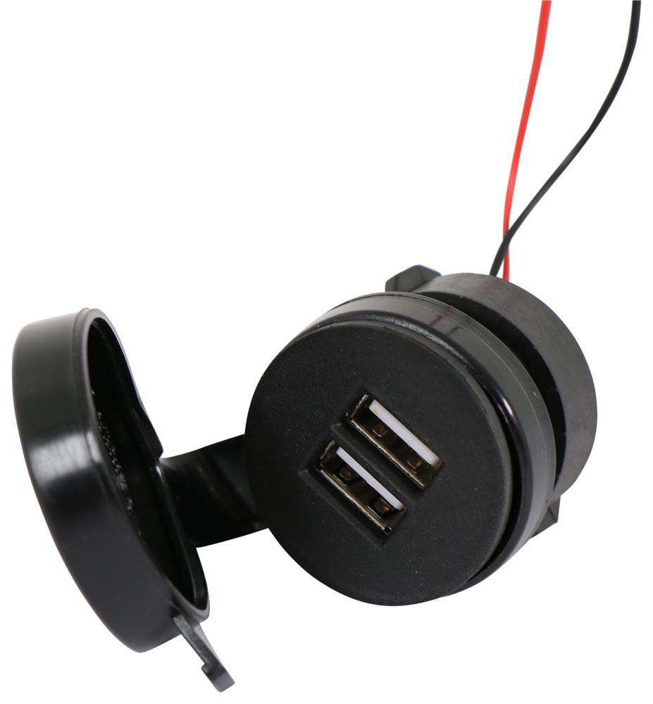DG61USBVP - 2 USB Outlets Diamond Power Socket