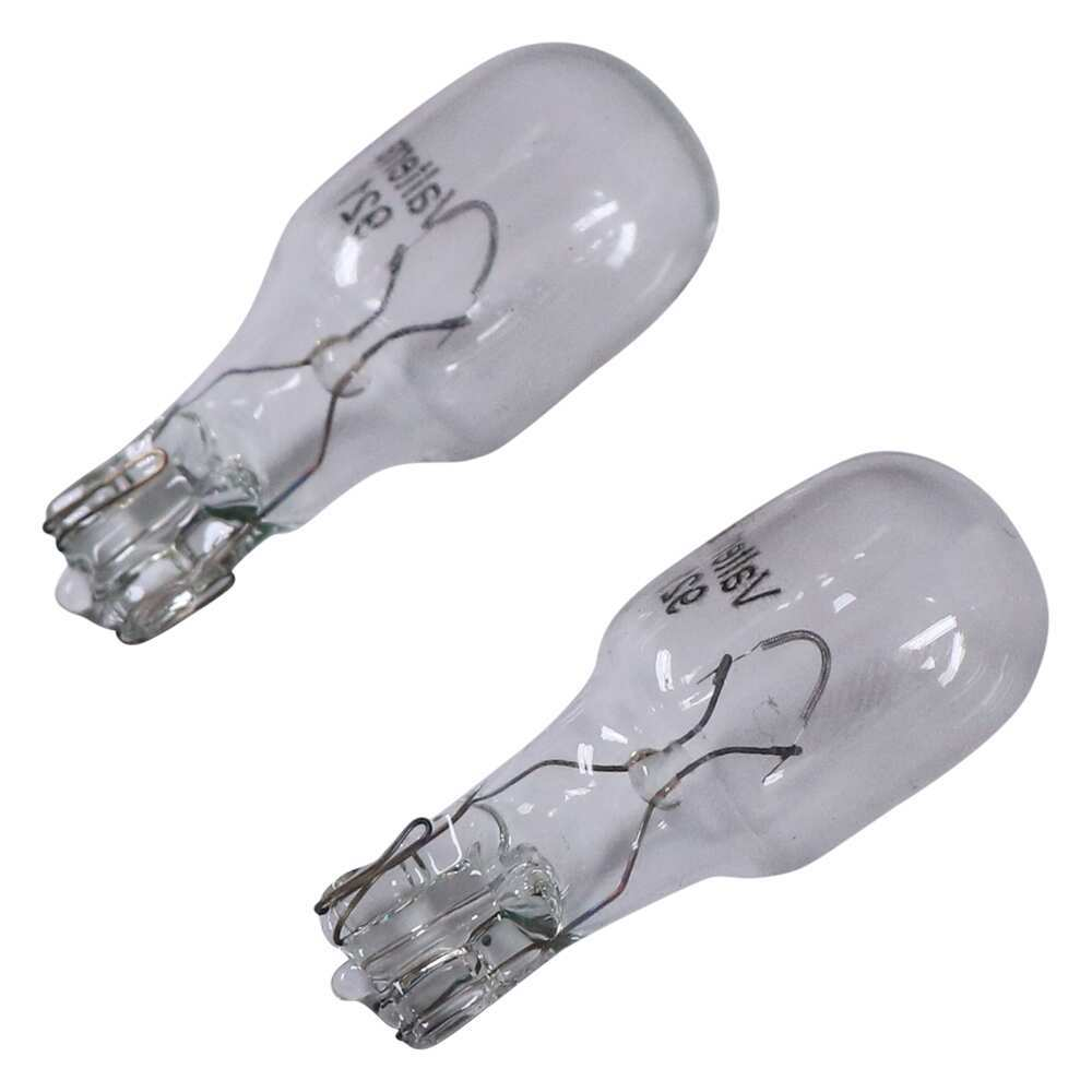 921 Incandescent Light Bulb - Wedge Base - 18 Watt - Soft White - Qty 2 Light Bulbs DI39VR