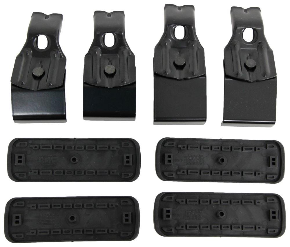 Custom DK Fit Kit for Rhino-Rack 2500 Series Roof Rack Legs - Naked Roof 4 Pack DK399