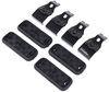 fit kits custom dk kit for 4 rhino-rack 2500 series roof rack legs - naked