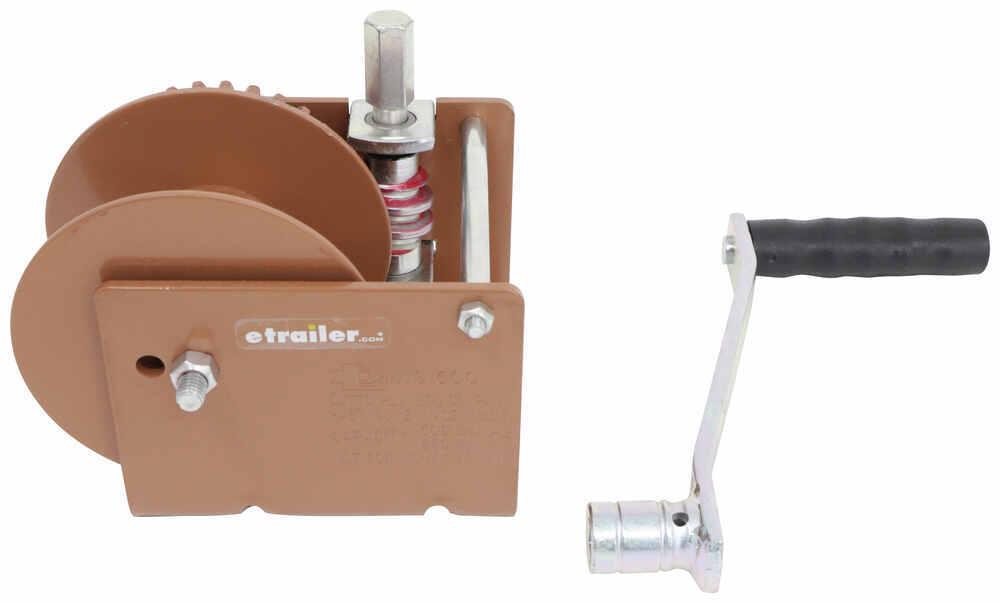 Dutton-Lainson Hand Winch - Worm Gear - Hex Drive - 1,500 lbs Standard Hand Crank DL11011