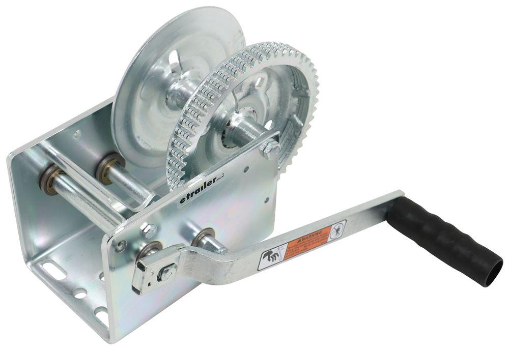 Dutton-Lainson Hand Winch - TUFFPLATE Finish - 2 Speed - Direct Drive - 2,500 lbs Heavy Duty DL14825