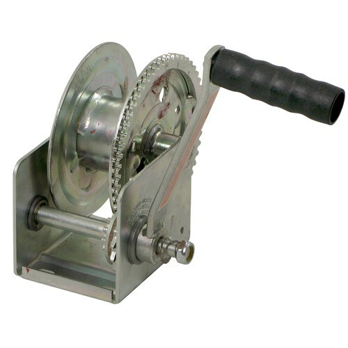 Dutton-Lainson Hand Winch w/ Automatic Brake - TUFFPLATE Finish - 1,200 lbs Standard Hand Crank DL14934