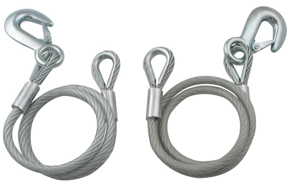 Dutton-Lainson 40 Inch Vinyl Coated Safety Cables with Clevis Hook Qty 2