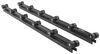Boat Trailer Standard Roller Bunk - 5' Long - 12 Sets of 2 Rollers - by Dutton-Lainson Black Rubber DL21755