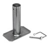 Removable Steel Foot with Pin for DL22530 A-Frame Trailer Jack by Dutton-Lainson 1-3/4 Inch Diameter Tubing DL22541
