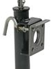 Pull Pin Easy Swivel Trailer Jack with Foot Top Wind 10 Inch Travel  2000 lbs