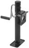 Pull Pin Easy Swivel Trailer Jack with Foot Side Wind 10 Inch Travel 2000 lbs